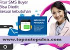 Fitur SMS Buyer Top Auto Pulsa Payment