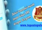 Cara Transaksi Isi Pulsa Via Telegram Top Auto Payment