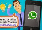Cara Transaksi Pulsa Via WhastApp Top Auto Payment