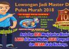 Lowongan Jadi Master Dealer Agen Pulsa Murah 2019